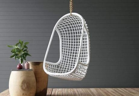 Modern Contemporary Urban Design Outdoor Patio Balcony Swing Chair