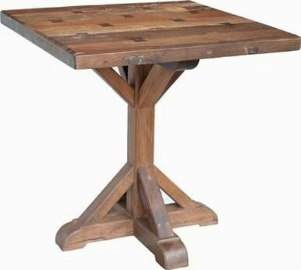 Merry Garden Mango Wood Folding Dining Table, Outdoor Dining Table Deck Table