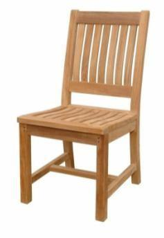 Bare Decor  Wood Outdoor Folding Chair