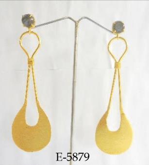 Bohemian Golden Earrings