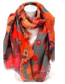 Womens Scarf Lightweight Shawl Wraps Long Head Scarfs for Women jacquard scarves