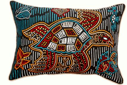 Printed cotton duck Embriodery Beads Cushion , Pillow for Home Sofa Couch Chair Home decor