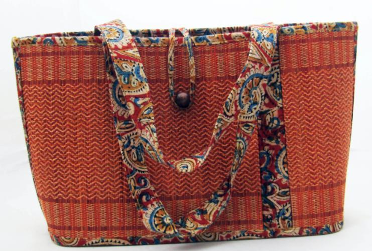 NATURAL GRASS BAG - Sabai Grass | natural | Brown/Beige - Natural/Natural- Handmade from Skilled artisan communities