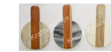 Marble and wood jointed SMALL paddle board