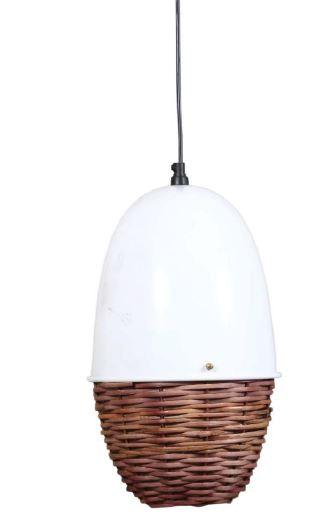 Cane light cage Pendant Light Fixture for Fashionable Modern Homes, Offices, Restaurants, Hotels