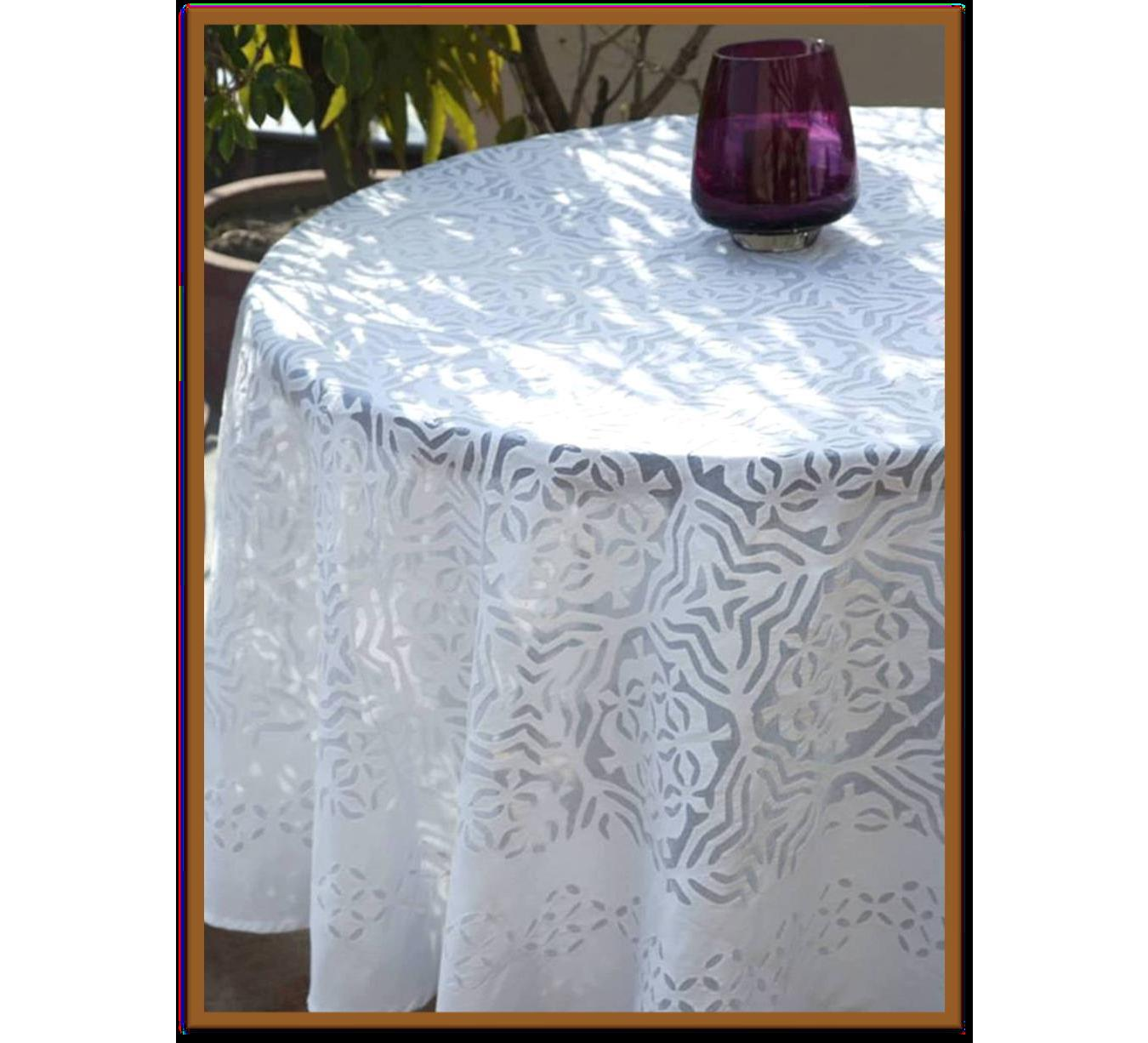Cotton Table Cover Dining Tablecloth Round Table Cover Coffee/Tea Table Cover Gifts