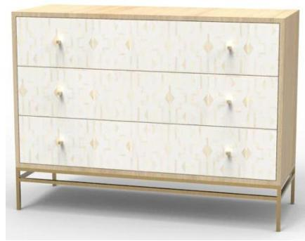 modern bone Inlay Sideboard Console Table, Accent cabinet Dresser, Chest of Drawers for storage, Cupboard, Sofa table