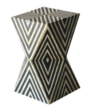 Modern Bone Inlay Coffee Table, Decorative Wooden top, Side Table, End Table