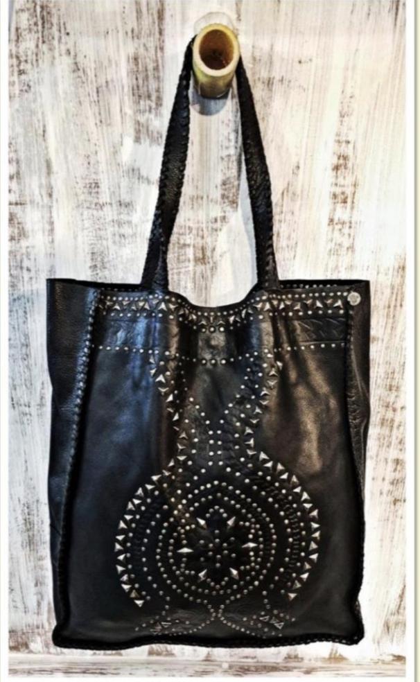 beautiful designer studded handmade bags for women