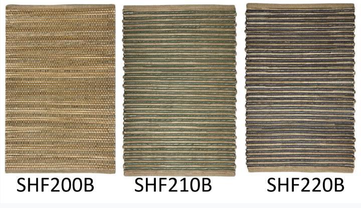 Brown bamboo woven handloom rugs