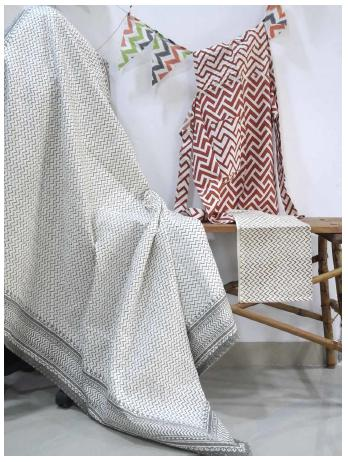 Wavy designer elegant looking throw blankets