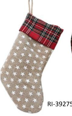 White Socks Santa Claus Christmas décor