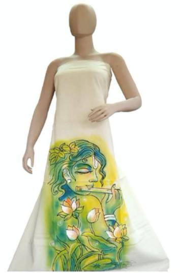 Womens Fashion Dress- Handpainted