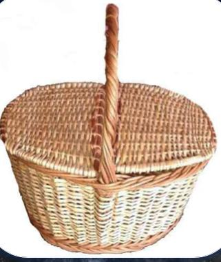 Multipurpose Baskets Storage In Kitchen Room Small To Large Vintage Decorative Rattan Wicker Basket