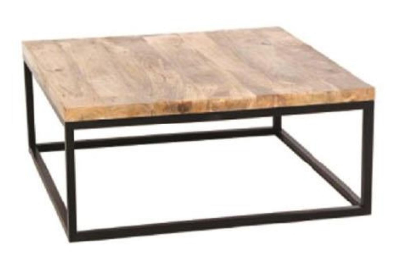 Coffee Table Round | Industrial  Sofa Table with Storage Open Shelf and Metal Legs for Living Room