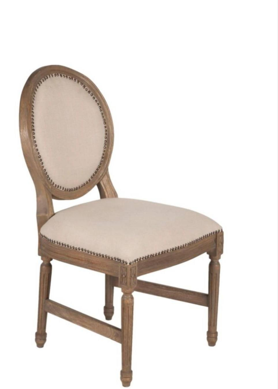 classy wooden chair with comfortable seat