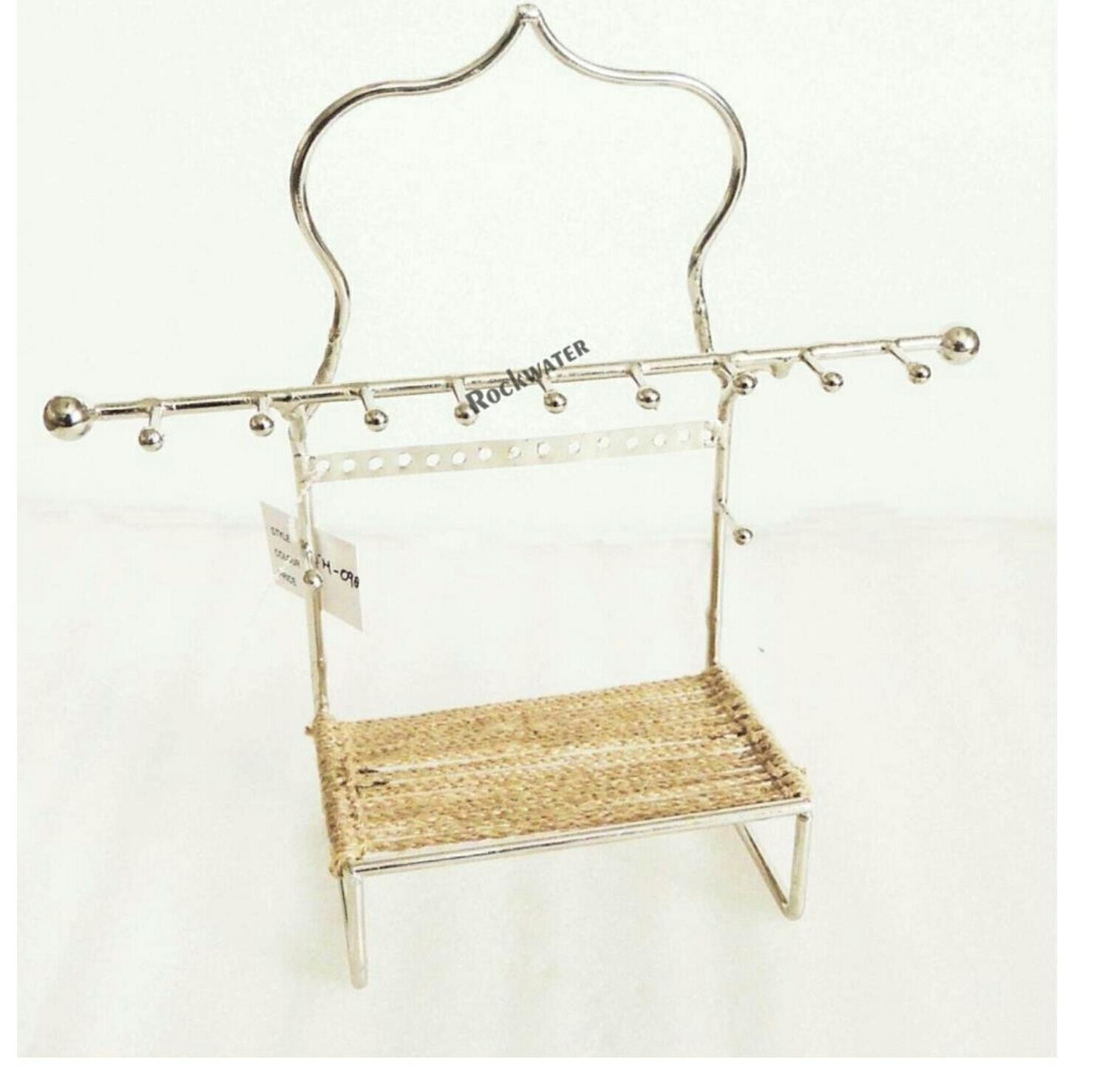 macrame mehal arch jwellery holder