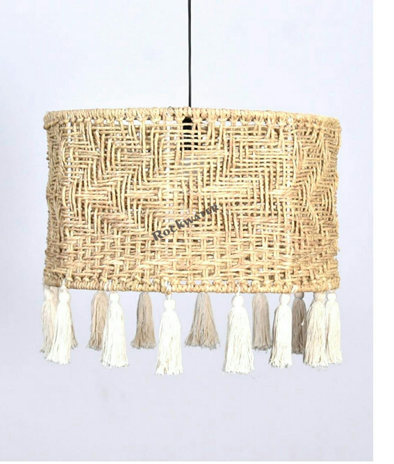 handmade jute hanging
