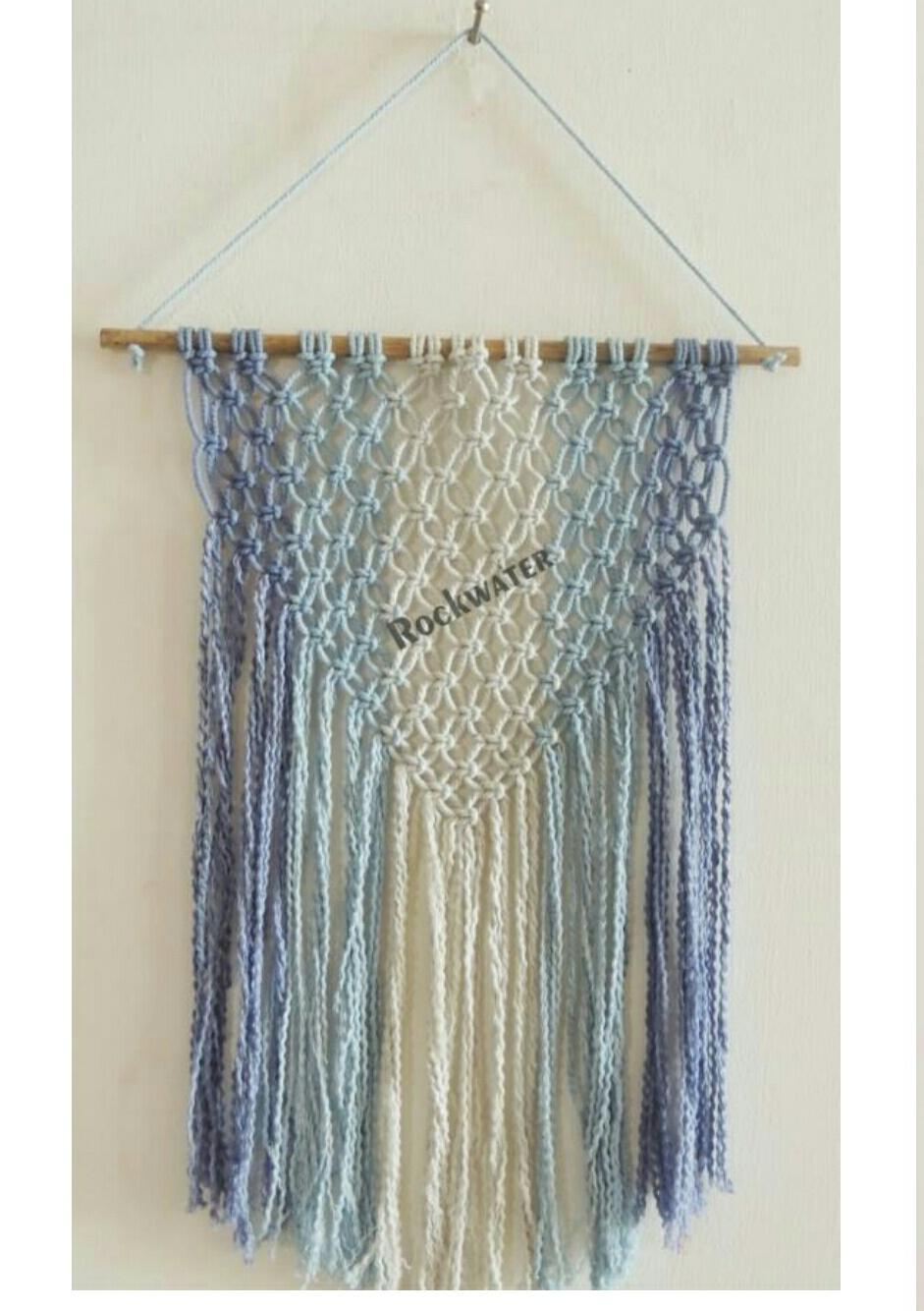 multicolour coastal tone wall hanging
