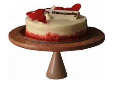 Beige Grey Cake Stand