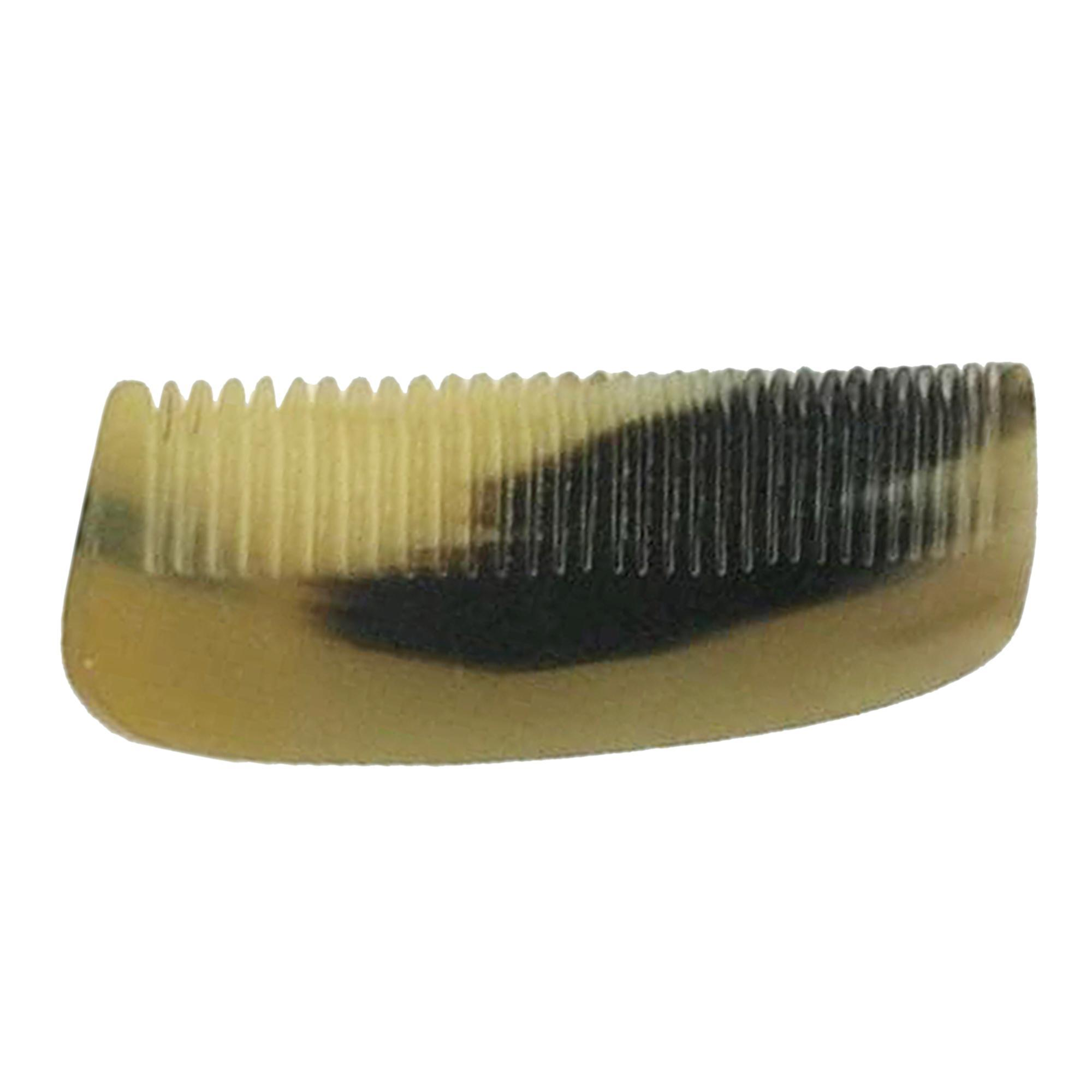 100% Handmade Anti Static Natural Sheep Horn Comb Without Handle- Professional Detangling Massage Comb