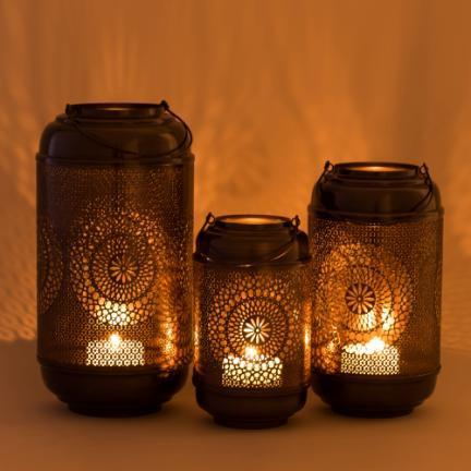 Moroccan Style Lantern Hollow Candle Holder
