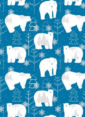 Christmas bear Wrapping Paper