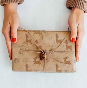 Christmas Reindeer Wrapping Paper